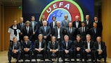Participants in last year's Elite Club Coaches' Forum in Nyon