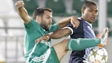 Ludogorets and Dinamo Zagreb played out a draw in the first leg in Bulgaria