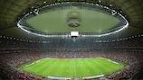 El Estadio Nacional de Varsovia