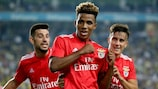 Gedson Fernandes leads the Benfica celebrations