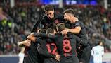 Atlético celebrate João Félix's goal last time out
