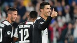 Cristiano Ronaldo's Juventus have four points in Group D