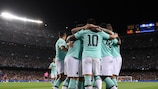 Inter's celebrations were cut short last time out