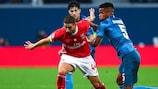 O Benfica procura os primeiros pontos na fase de grupos