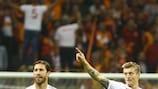 Toni Kroos tras marcar el gol del triunfo del Real Madrid contra el Galatasaray