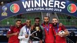 Le Portugal est l'actuel champion d'Europe de futsal de l'UEFA.