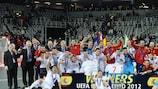 En 2012 España conquistó su cuarto entorchado consecutivo, el sexto en el total