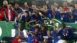France savour first triumph