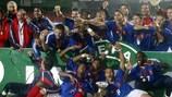 Frankreich wurde 2005 zum ersten Mal U19-Europameister