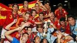 Espanha sagra-se bicampeã
