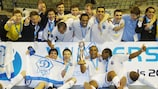 Dinamo put successive final defeats behind them to claim the trophy
