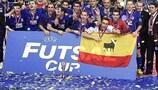 Castellón take first futsal crown