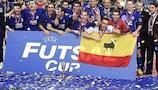 O Playas de Castellón conquistou a primeira Taça UEFA de Futsal em 2002, na final disputada em Lisboa