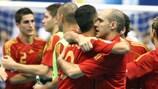 A Espanha levou a melhor sobre a República Checa