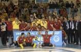 Espanha soma segundo título consecutivo
