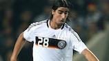 Sami Khedira sous le maillot de l'Allemagne