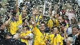 Brazil lift the FIFA Futsal World Cup in Rio de Janeiro