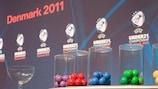 Sorteo para el Campeonato de Europa Sub-21 de la UEFA llevado a cabo en el Musikhuset de Aarhus
