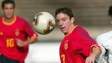 Sisi in action for Spain's U17 side in 2003