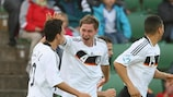 A Alemanha bateu a Finlândia por 2-0