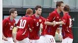 Die Tschechische Republik liegt auf Kurs Richtung Play-offs