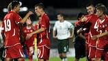 Die Schweiz durfte nach dem Sieg gegen Irland über den Einzug in die Play-offs jubeln