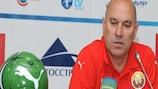Georgi Kondratyev hopes to guide his Belarus side to the Under-21 semi-finals