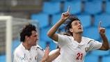 Yegor Filipenko marcou para a Bielorrússia nos instantes finais