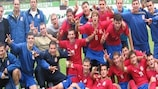 Serbia are aiming for success in Romania