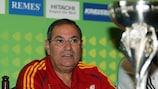 Spain coach Ginés Meléndez has his eyes on the U19 trophy again