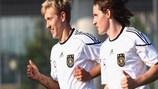 Sebastian Rudy (rechts) und Lewis Holtby gehören zu den Hoffnungsträgern der U21