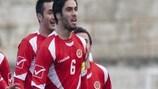 Rowen Muscat marcou na vitória de Malta sobre a Lituânia, por 2-1, em Siauliai