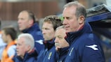 Scotland manager Billy Stark