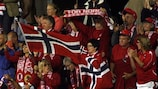 Norway took the three points in Baku