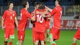 Belarus were 2-0 winners in Serravalle