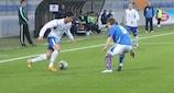 Araz Abdullayev scored Azerbaijan's equaliser