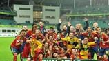 Spanien feiert den sechsten Titelgewinn in der U19