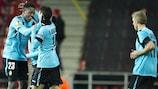 Mitshy Batshuayi fait une bonne saison avec le Standard