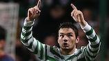 Celtic's Tony Watt made it 2-0