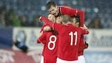 La Norvège célèbre sa qualification pour la phase finale
