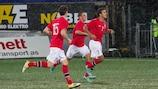 Le Norvégien Harmeet Singh (à droite) est convaincu que son équipe est prête pour le match d'ouverture contre Israël