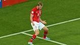 Jo Inge Berget festeggia il gol