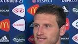 Shkodran Mustafi dijo que estaba satisfecho de que al menos Alemania se hubiera despedido con un triunfo