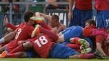 Le bonheur des joueurs serbes