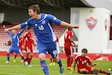 Emil Atlason scored a hat-trick in Iceland's victory