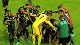 La Belgique célèbre son 3e but