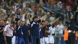 Guy Luzon et Israël après la victoire contre l'Angleterre