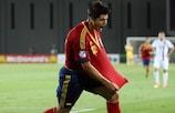 Álvaro Morata lleva seis goles en tres partidos en esta ronda de clasificación