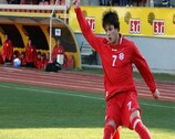 Valeri Kazaishvili was on target for Georgia
