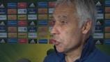 New France U21 coach Pierre Mankowski